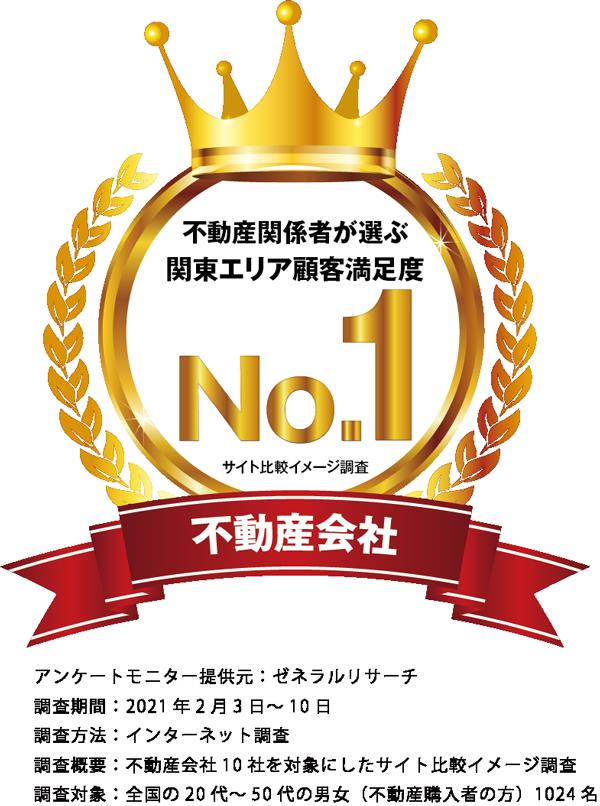 関東エリア顧客満足度no1の不動産会社
